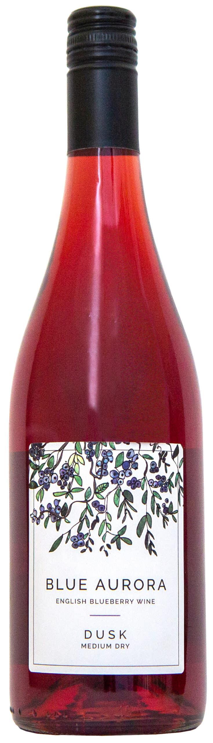 Blue Aurora Dusk Blueberry Wine